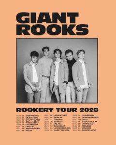 Giant Rooks, Europa Tour, Termine, 2020