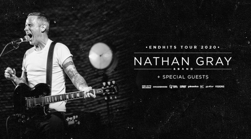 Nathan Gray, End Hits Records, Tour, 2020
