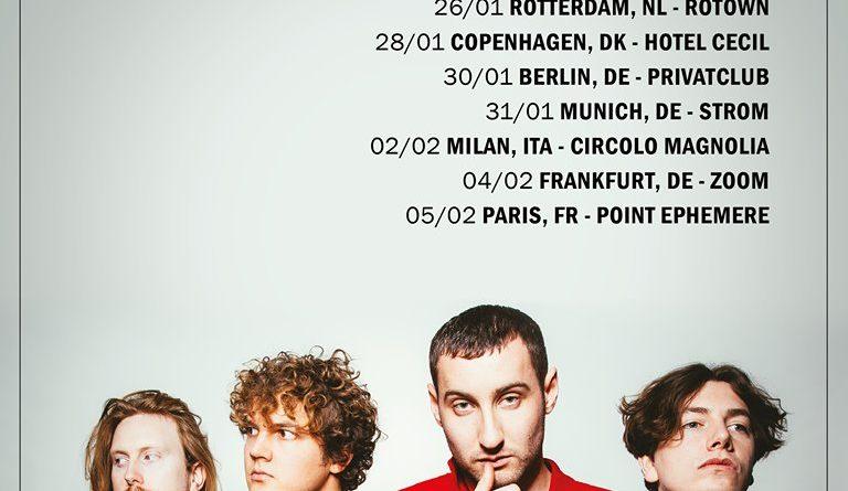 Sea Girls, Tour, Konzerte, 2020