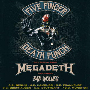 Five Finger Death Punch, Tour 2020