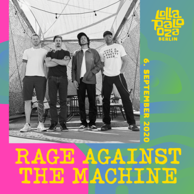 Rage Against The Machine beim Lollapalooza Berlin 2020